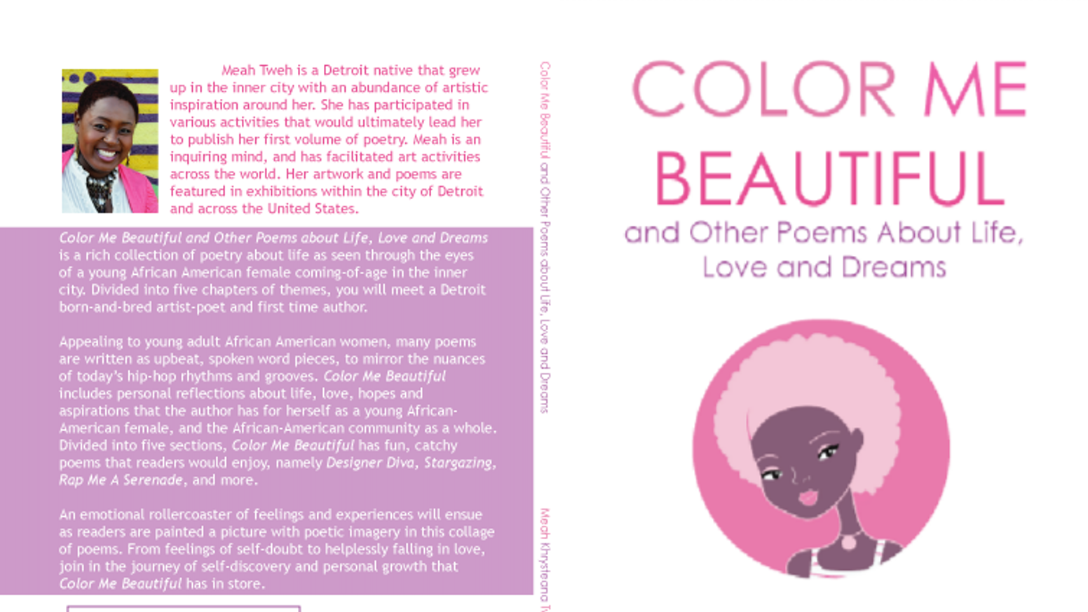 Color Me Beautiful Poetry Book Release Party Afterglow By Meah