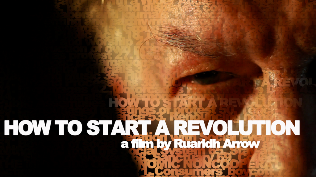 HOW TO START A REVOLUTION a new documentary film project video thumbnail