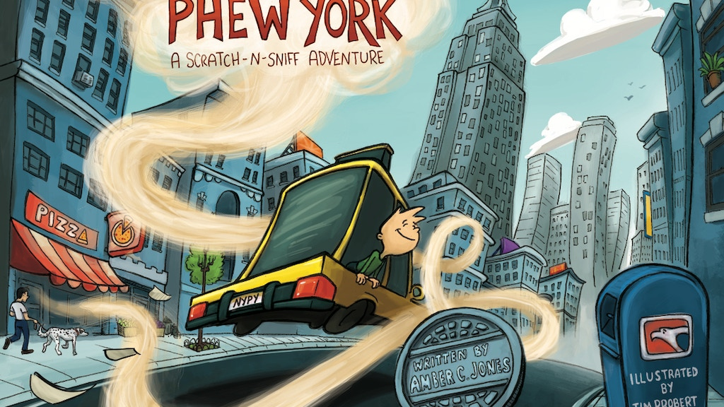 New York, Phew York (A Scratch-N-Sniff Adventure) project video thumbnail