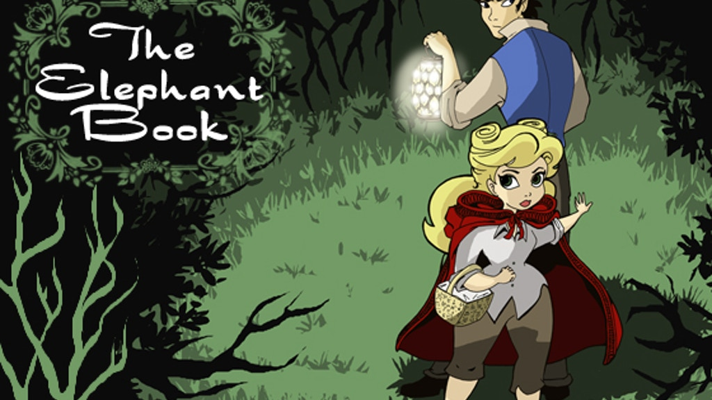 'The Elephant Book' Graphic Novel project video thumbnail