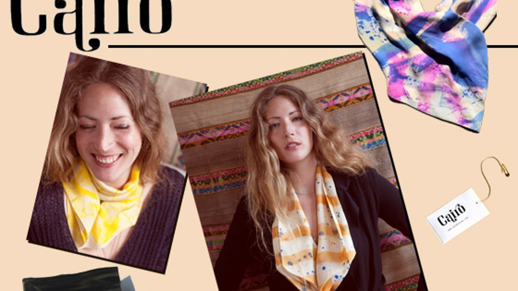 Cairo: 100% silk scarves with a magnetic closure project video thumbnail