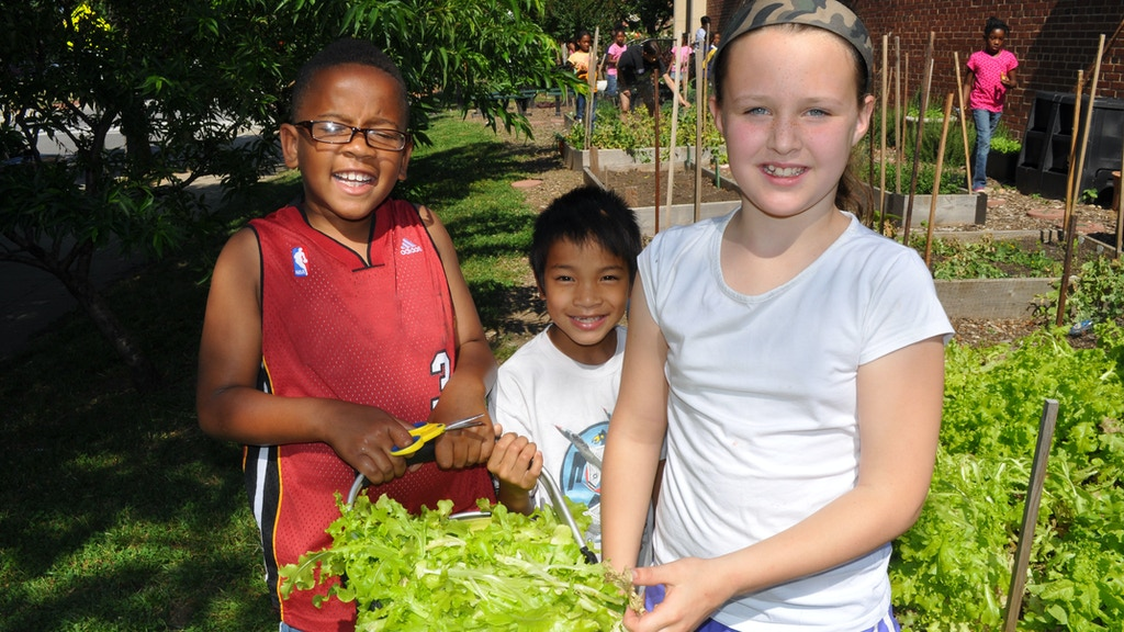 Build DC Public School Kids a FoodPrints Teaching Kitchen! project video thumbnail