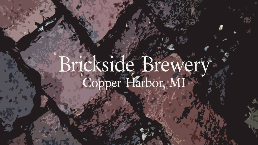 Brickside Brewery, Copper Harbor's first Microbrewery. project video thumbnail