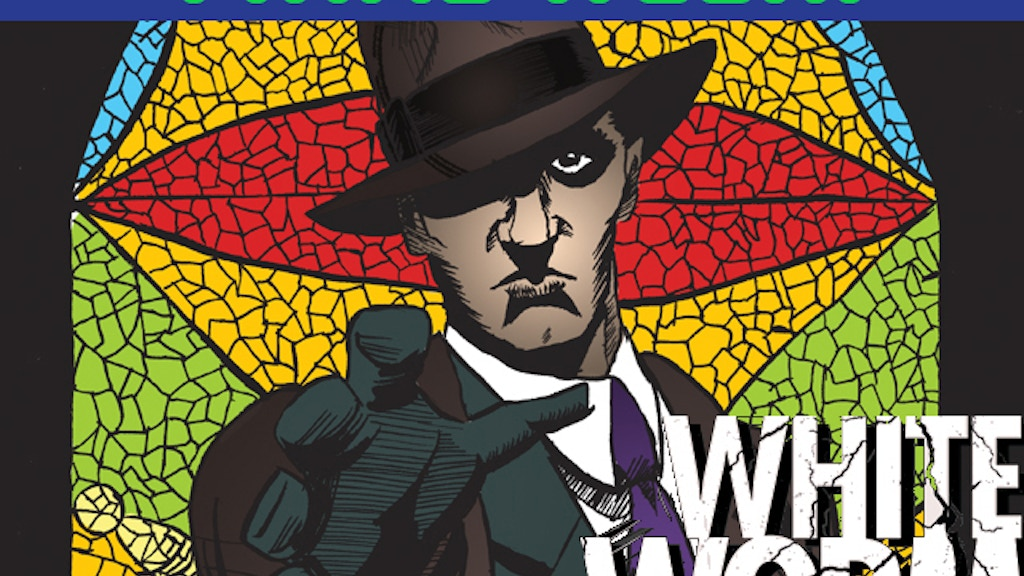 WHITE WORM - Full Color Graphic Novel (print & web) project video thumbnail