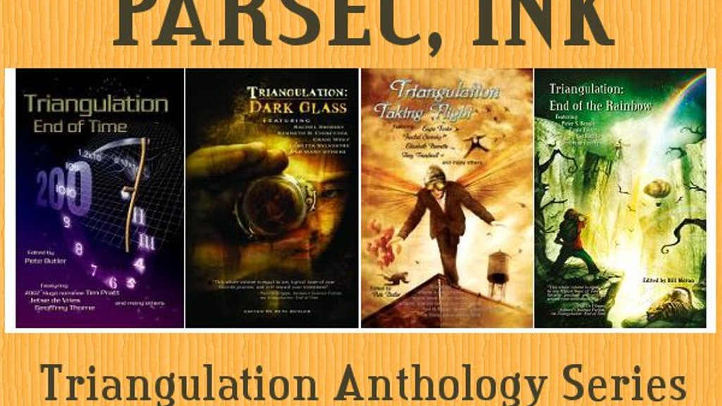 Parsec Inks Triangulation Last Contact Anthology By Steve Ramey