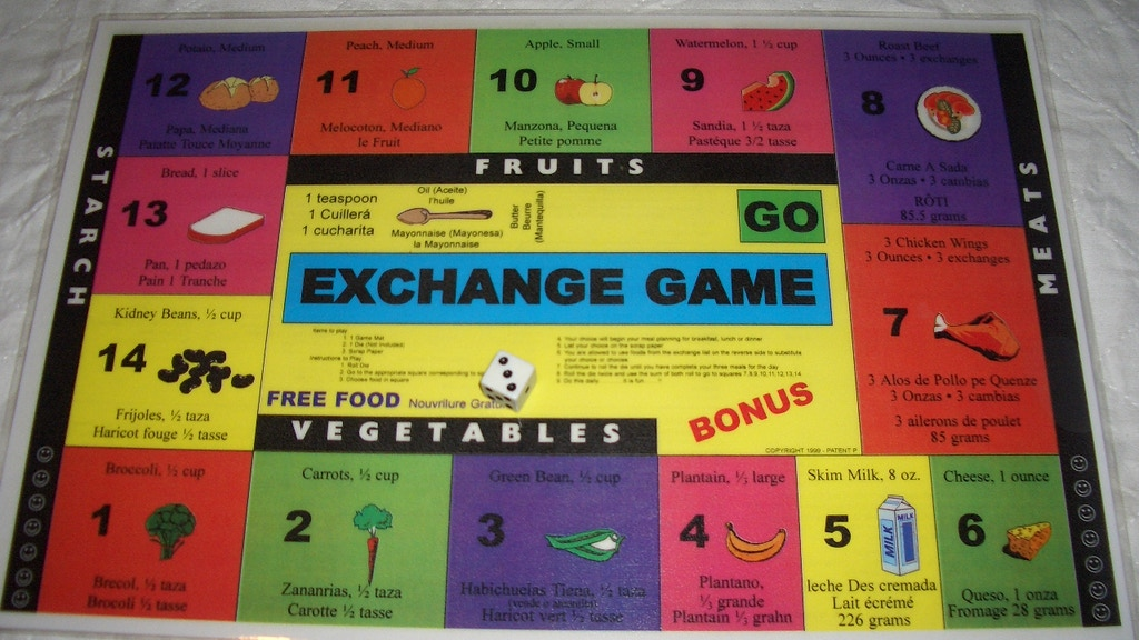 Project image for EXCHANGE FOOD GAME
