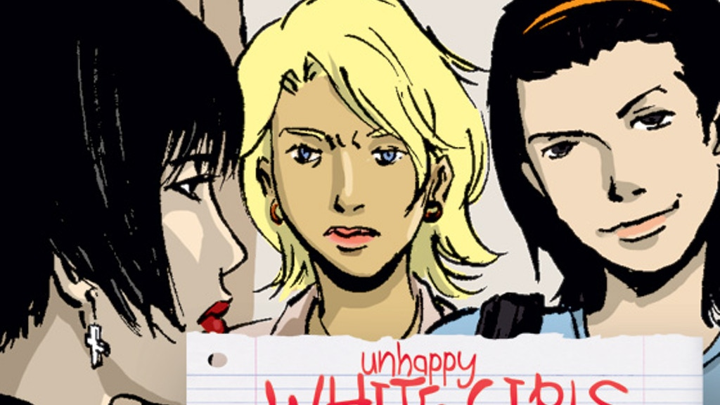 Unhappy White Girls: A comic book novella project video thumbnail