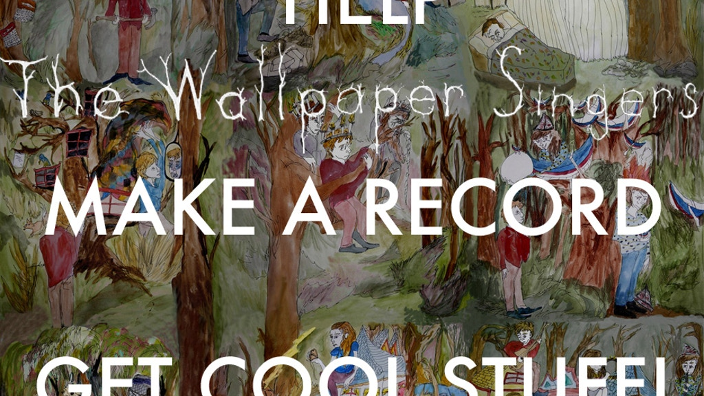 Help Ben Morey And The Wallpaper Singers Release An Album