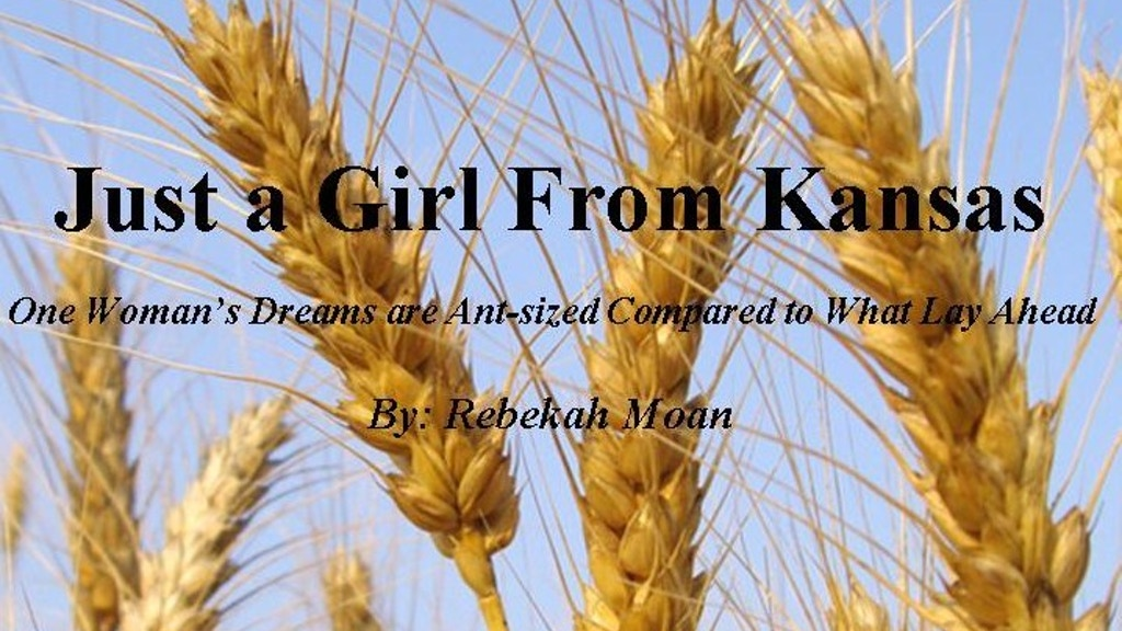 "Get ""Just a Girl From Kansas"" Published! project video thumbnail"