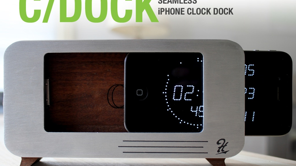 c/dock - For the Apple iPhone project video thumbnail