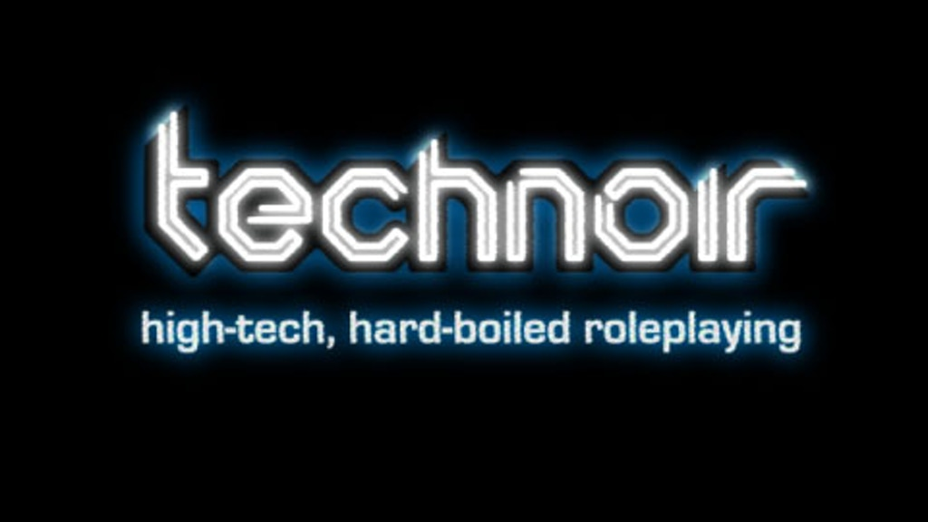 Technoir: high-tech, hard-boiled roleplaying project video thumbnail