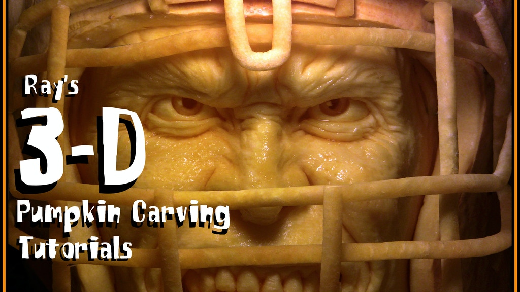 Ray Villafane S 3d Pumpkin Carving Tutorials By Ray Villafane
