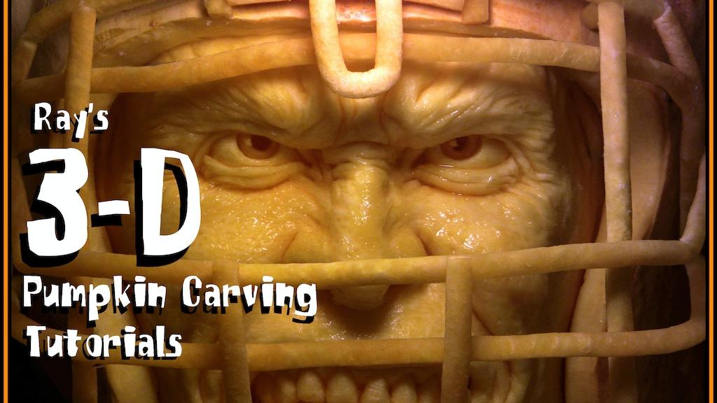 Ray Villafane's 3D Pumpkin Carving Tutorials project video thumbnail