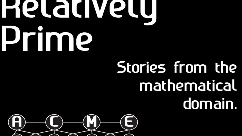 Relatively Prime: Stories from the Mathematical Domain project video thumbnail