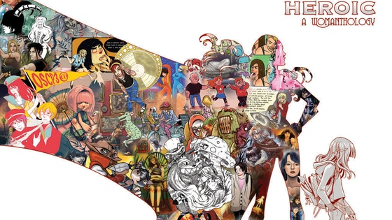 Womanthology; Massive All Female Comic Anthology! project video thumbnail