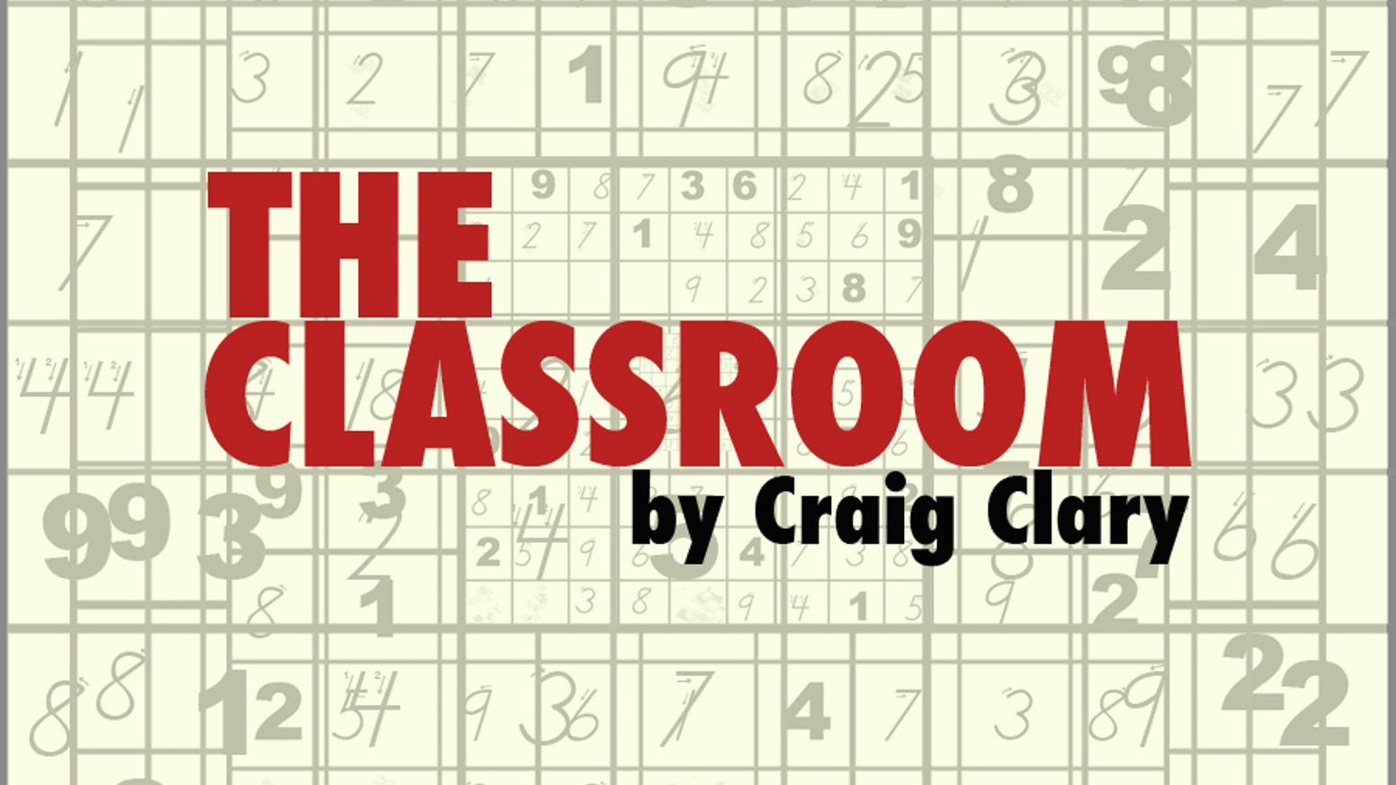 The Classroom by Craig Clary » It's a date! Actually, it's five