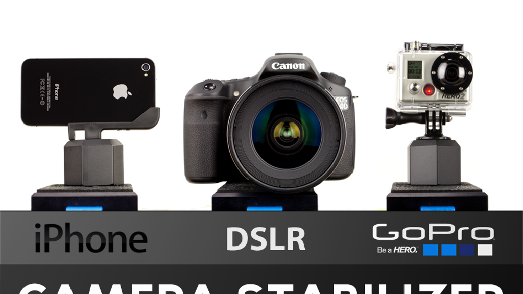 EZ-Steady- iPhone, DSLR, GoPro Camera Stabilizer project video thumbnail
