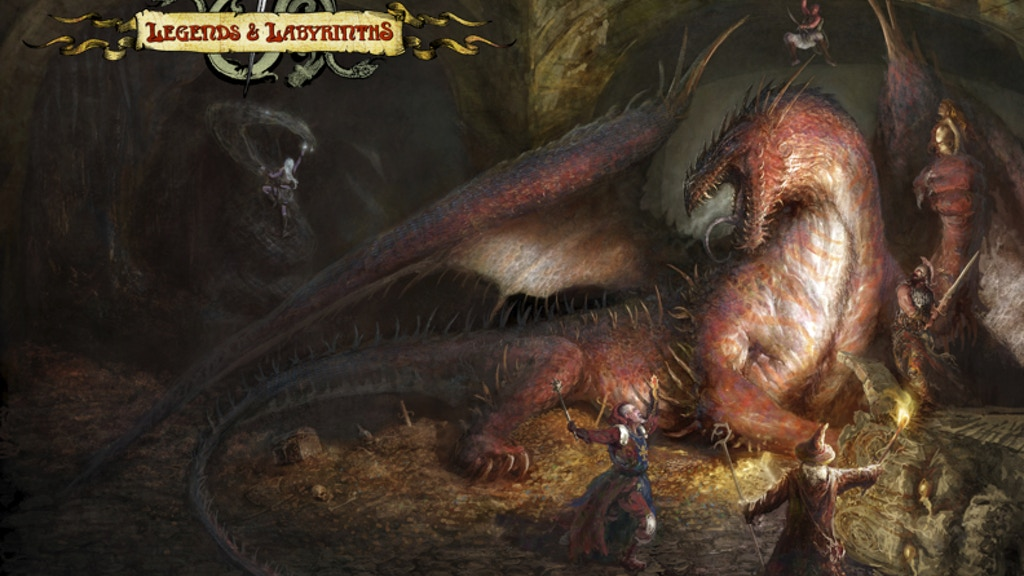 LEGENDS & LABYRINTHS™ Rulebook project video thumbnail