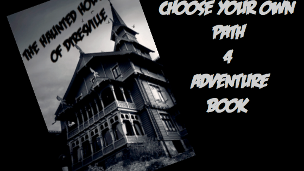 """Project image for """"Choose Your Own Path 4 Adventure"""" game book"""