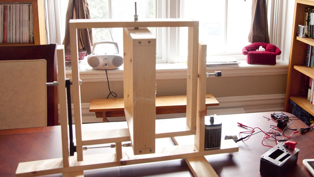 smartCaster: Open source automatic roto-casting machine project video thumbnail