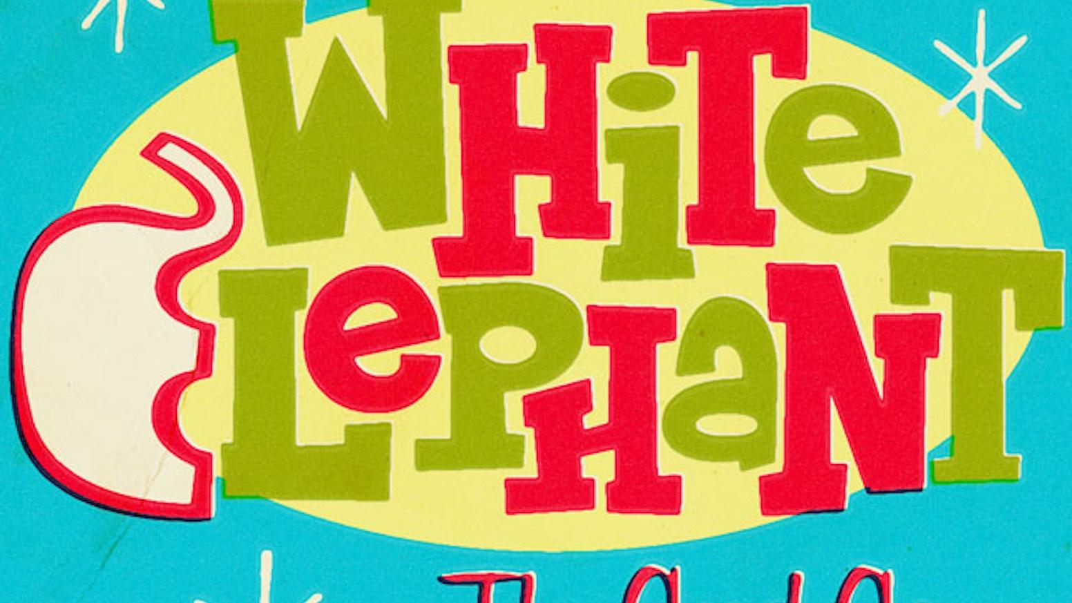 white elephant card game by brian kelley kickstarter - Christmas White Elephant