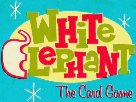White elephant card game by brian kelley kickstarter the retro style white elephant card game simulates the classic holiday gift exchange game solutioingenieria Gallery