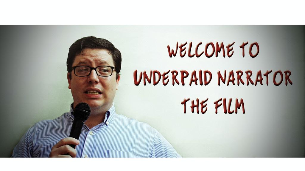 Underpaid Narrator project video thumbnail