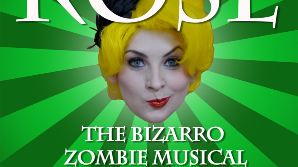 "JOHN SKIPP'S ""ROSE"": THE BIZARRO ZOMBIE MUSICAL! project video thumbnail"