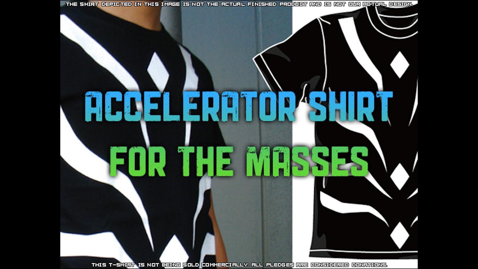 Shirt design jacksonville fl - Accelerator Shirt For The Masses
