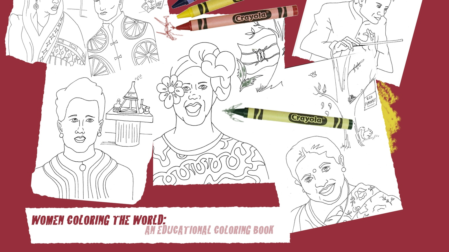 Women Coloring The World: Educational Coloring Book by Jen Braverman ...