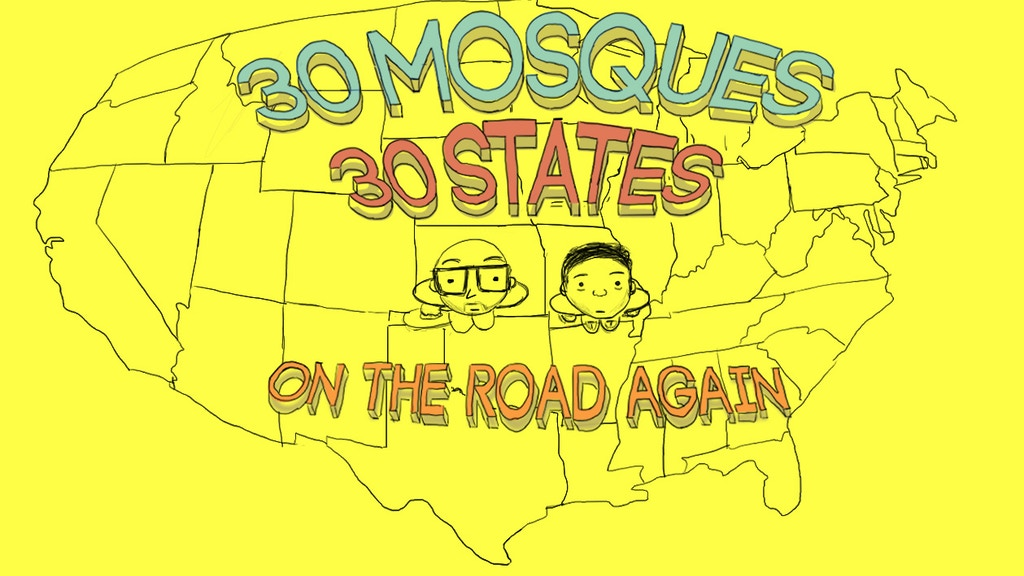 30 Mosques in 30 Days project video thumbnail