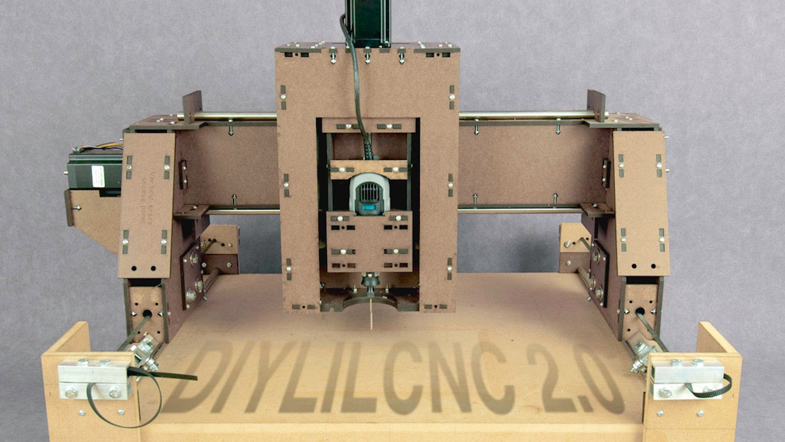 DIYLILCNC 2.0 - Open-source plans for a low-cost CNC mill.