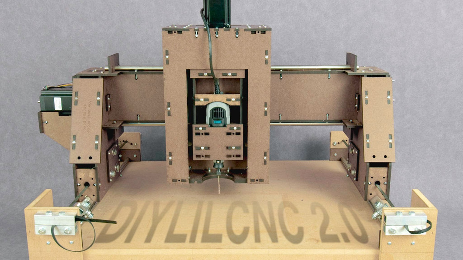 DIYLILCNC 2 0 - Open-source plans for a low-cost CNC mill
