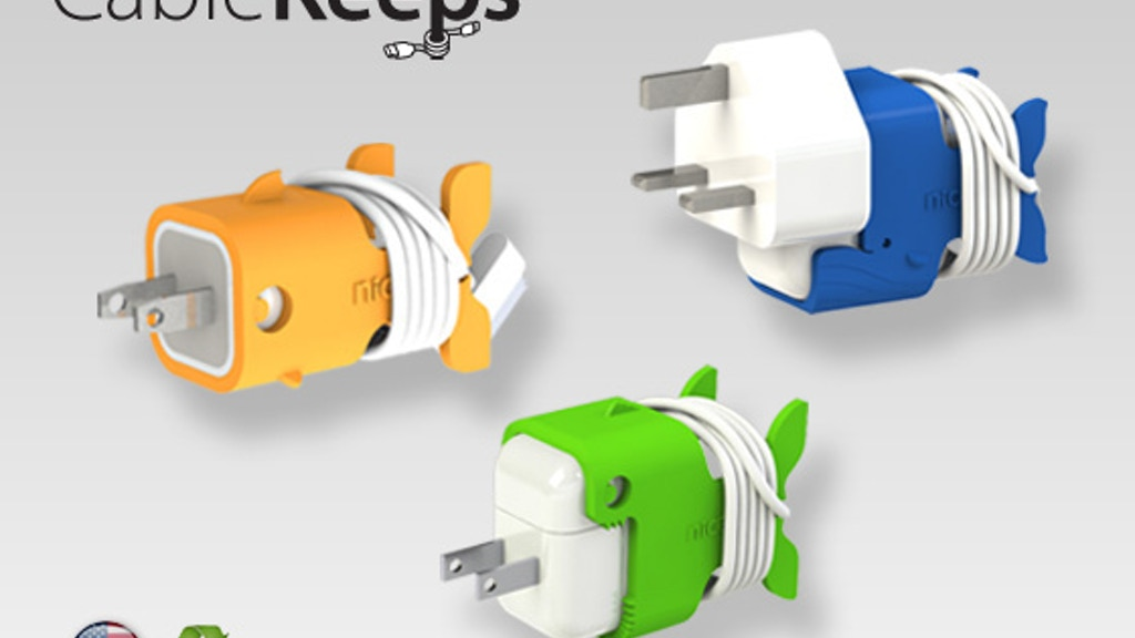 CableKeeps - for iPad, iPhone, and iPod chargers. project video thumbnail