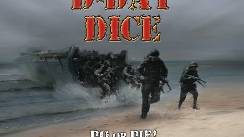 D-Day Dice Board Game project video thumbnail