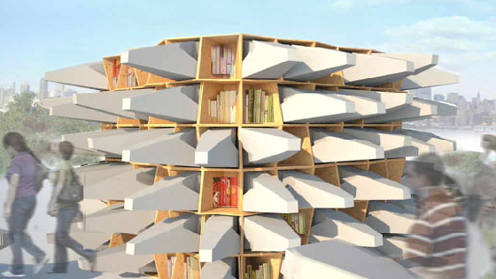 The Uni: a portable, open-air reading room for public space project video thumbnail