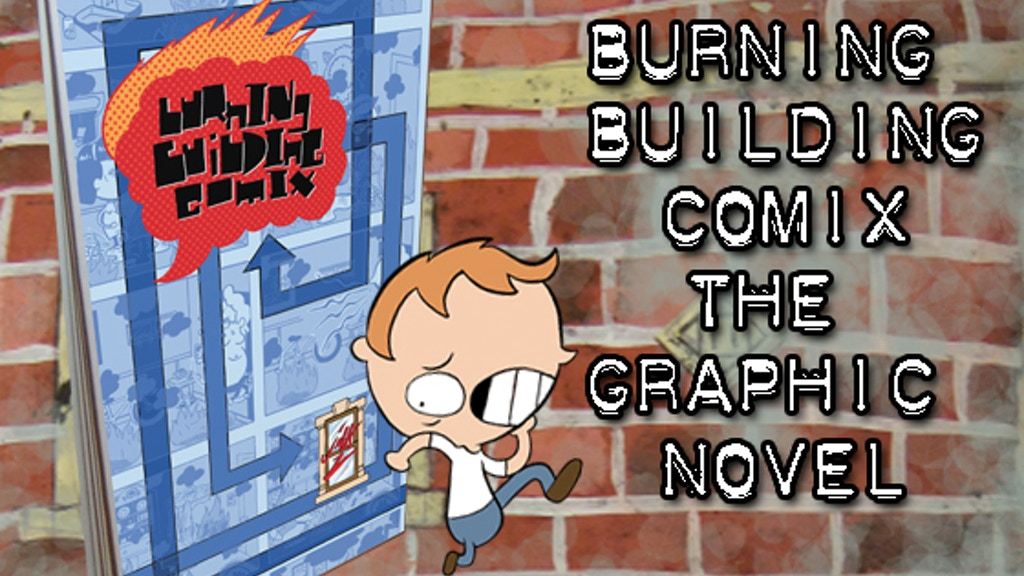 Burning Building Comix, The Graphic Novel project video thumbnail