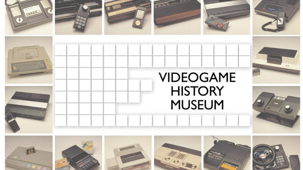 The Videogame History Museum project video thumbnail