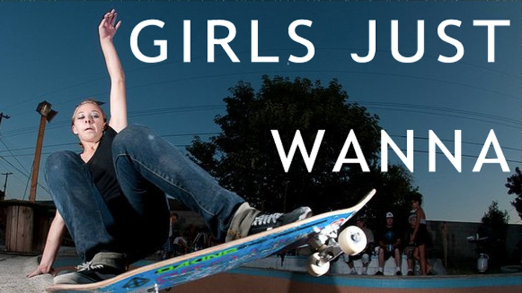 GIRLS JUST WANNA GRIND - The Untold Story of Girl Skaters project video thumbnail