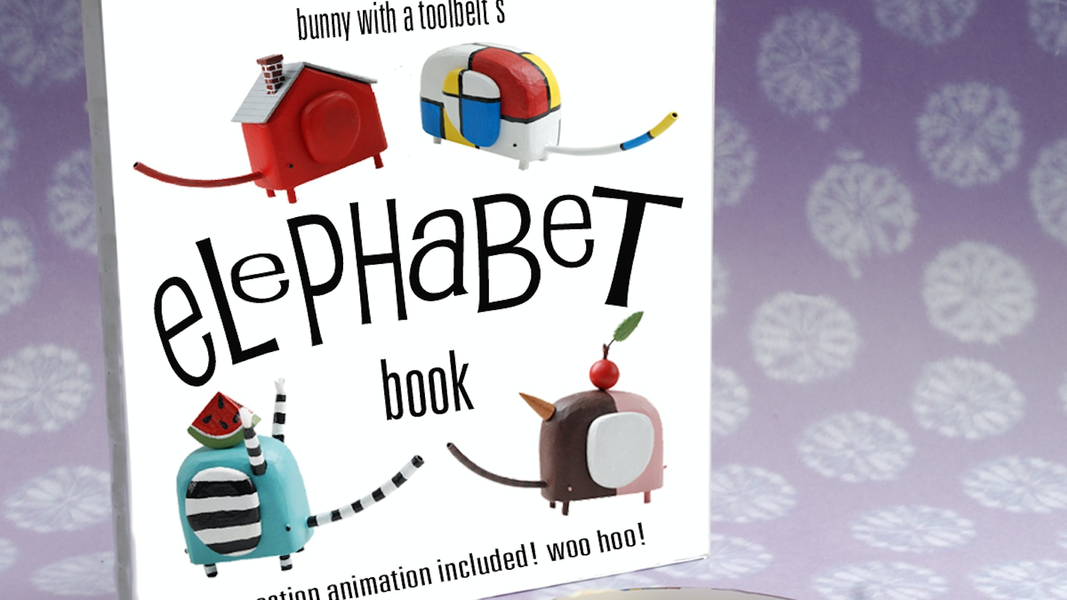 Elephabet will be a book for kids, big kids, and even bigger kids, giving a handmade insight into the alphabet we all know and love.