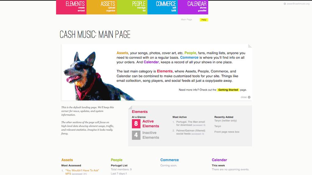 CASH Music Platform project video thumbnail