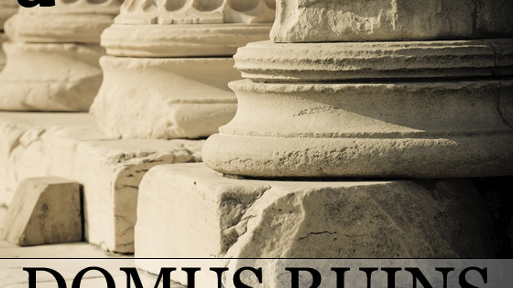 Domus Ruins: Ready-to-Play Scenery for Miniatures Games project video thumbnail