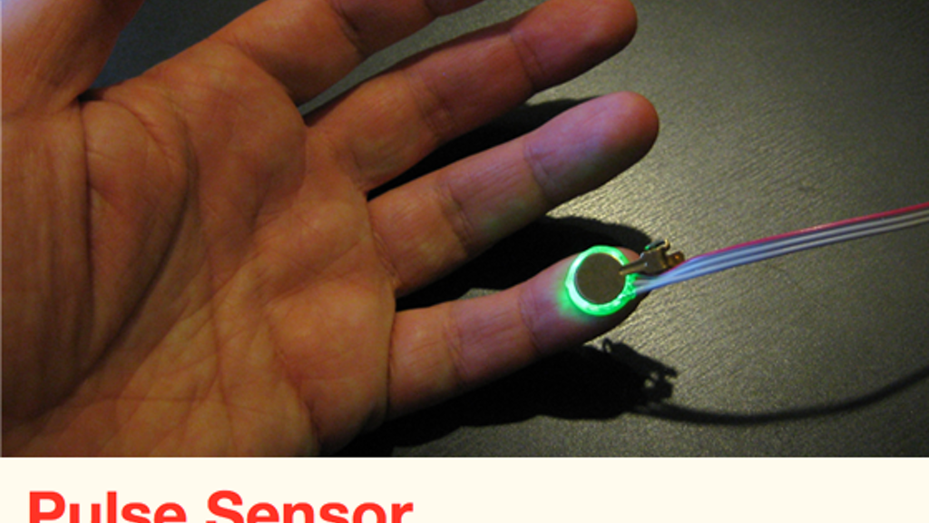 Pulse Sensor:  an Open Source Heart-rate Sensor that Rocks project video thumbnail