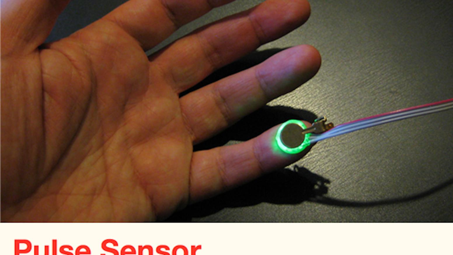 Pulse Sensor: an Open Source Heart-rate Sensor that Rocks by