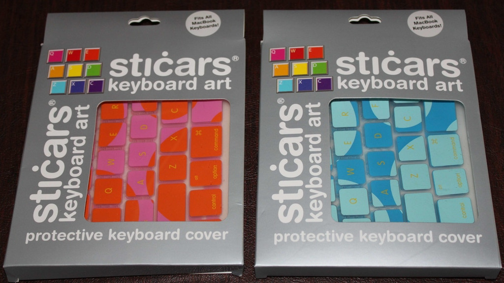 STICARS decorative keyboard covers project video thumbnail