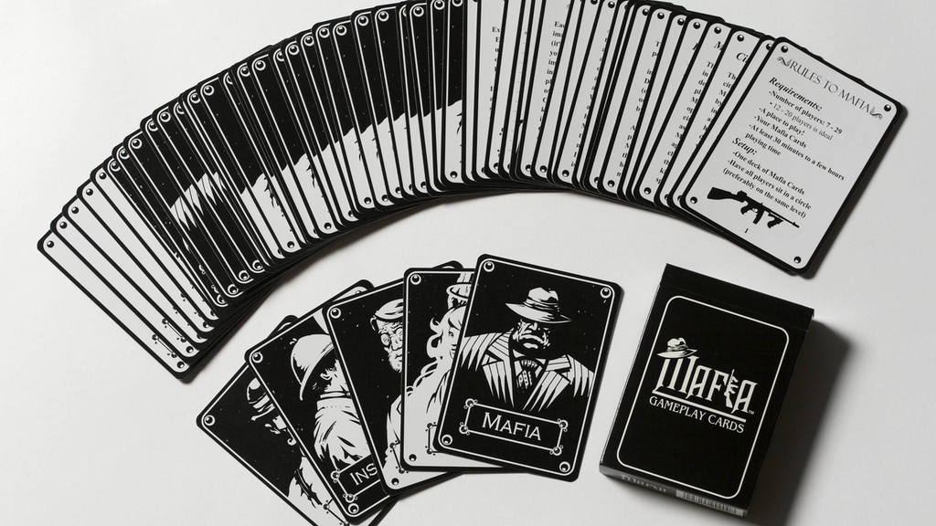 Project image for Mafia Gameplay Cards