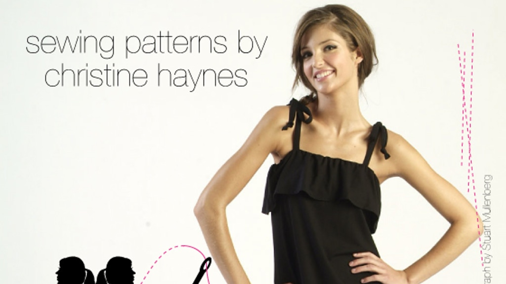 Christine Haynes Launches Sewing Patterns By Christine Haynes