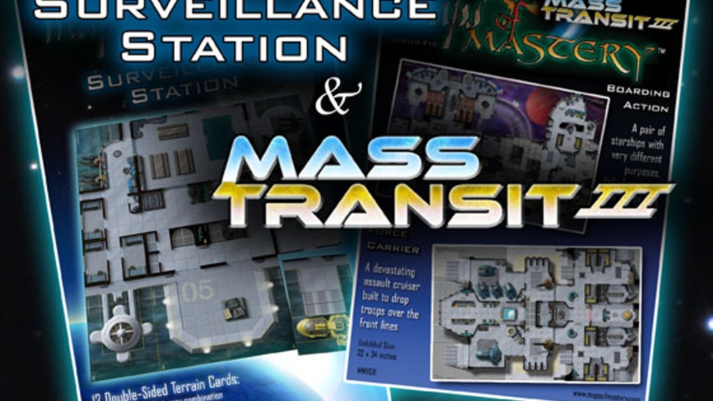 Mass Transit III Maps & Surveillance Station Tiles project video thumbnail