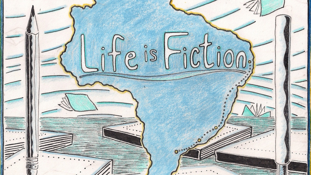 Life is Fiction:  The woodcut graphic novel project video thumbnail