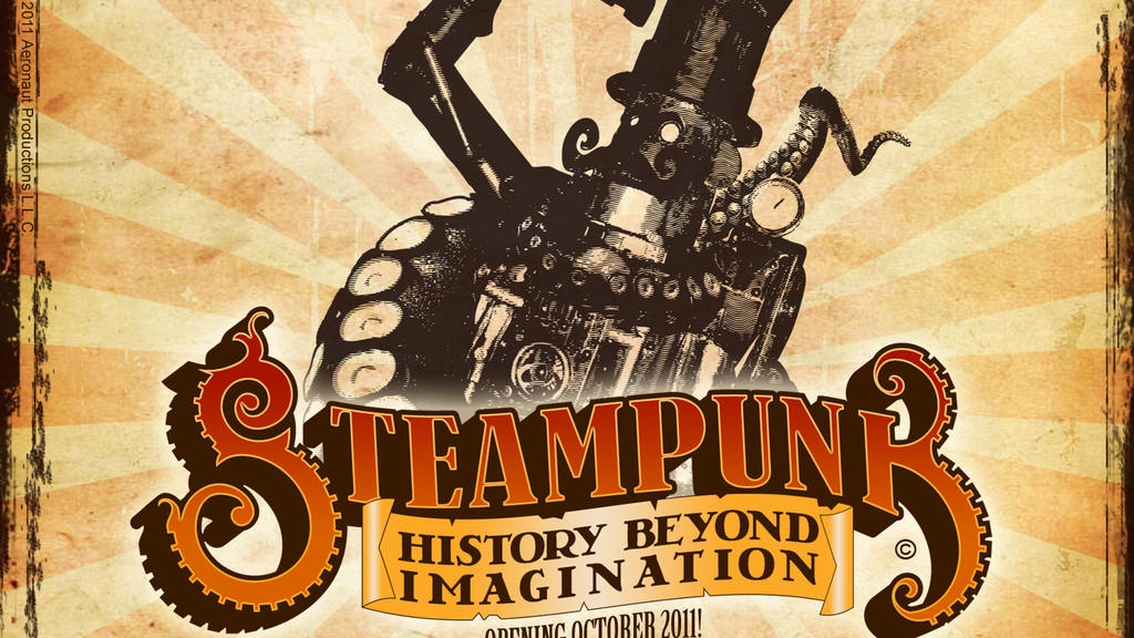 """""""Steampunk: History Beyond Imagination"""" - Museum Exhibit project video thumbnail"""